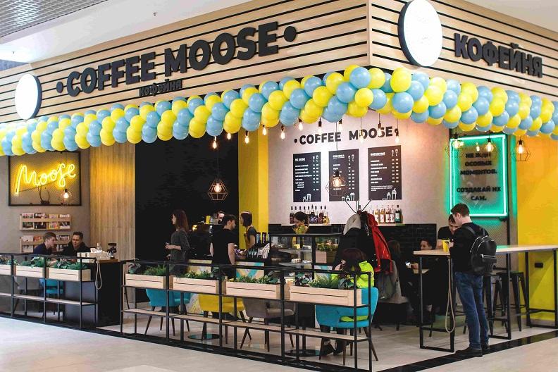 Франшиза сети кофеен формата «кофе с собой» Coffee Moose