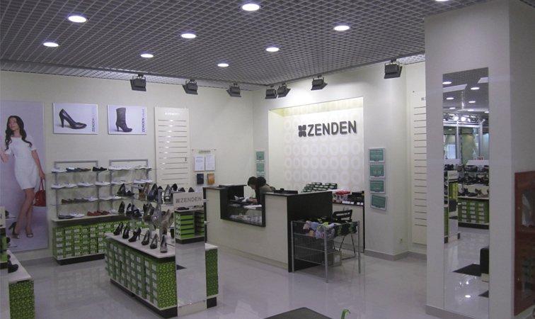 Франшиза магазина обуви Zenden